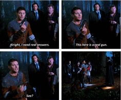 """[SET OF GIFS] """"Now start talking.""""  8x11 LARP and the Real Girl"""