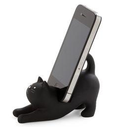 Soporte para teléfono móvil gato
