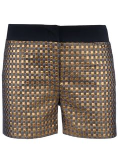 GILES Shorts Dourado.