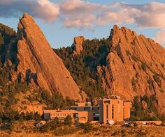 In Boulder, when you walk into a bar you are as likely to sit next to a rocket scientist or nobel prize winning environmental scientist as you are to an expert climber who just got back from Everest or an XGames gold medalist! Ball aerospace, NCAR, NOAA all call Boulder home. Plus NCAR Mesa Lab (above) is a great place to visit and their museum is free!