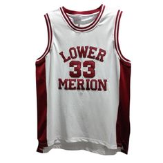 Kobe Byrant s  33 Lower Merion High School basketball jersey. Stitched name  and numbers. b65452579
