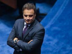 'Canalha asqueroso', diz e-mail recebido pelo senador Aécio Neves.