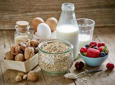 ingrédients sains pour le petit-déjeuner