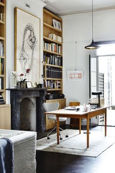 home office workspace wooden furniture. fine office this naturalist and modern office space is perfect for lovers of wooden  furniture light floor minimalistic interior details for home office workspace wooden furniture p