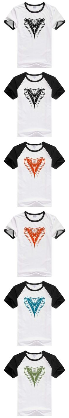 For Cobra head Snake short sleeve casual men T-shirt Tshirt Cool Print Tops tee funny GA152