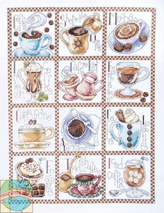 Design Works - Coffee Break - Cross Stitch World