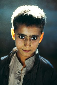 Afghanistan boy, Steve McCurry