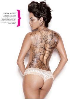 Daisy Marie  #InkedMagazine  #inked #tattoos #ink #tattoo #lifestyle #sexy #stream