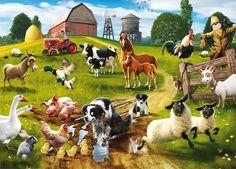 Звуки домашних животных для детей