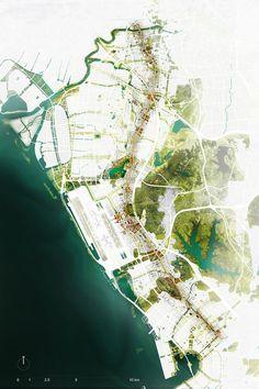 Graphics Of Landscape Architecture Landscape Gardening Bracknell Landscape And Urbanism, Landscape Architecture Design, Landscape Plans, Landscape Drawings, Architecture Plan, Urban Landscape, Mountain Landscape, Architecture Mapping, Architecture Graphics