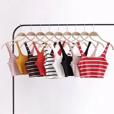 Tops – Page 2 – shopdevi Cute Comfy Outfits, Simple Outfits, Trendy Outfits, Cool Outfits, Summer Outfits, Cropped Tank Top, Crop Tank, Crop Top Outfits, Teen Fashion Outfits