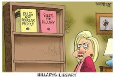 hillary's library