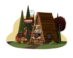 The Lumber Lodge by TheBeastIsBack on DeviantArt