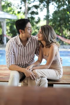 Kryz Uy and Slater Young Look So In-Love in Their Chill Engagement Shoot! Engagement Couple, Engagement Pictures, Engagement Shoots, Prenup Photos Ideas, Prenuptial Photoshoot, Kryz Uy, Bride And Breakfast, Pre Wedding Photoshoot