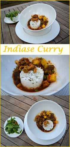 Indiase Curry met Rijst. #recept  #Indiase #curry