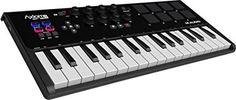 M-Audio Axiom AIR Mini 32 Tastiera Controller MIDI USB Ultra Portatile con 32 Tasti Sensibili alla Dinamica + Ignite e Ableton Live Lite