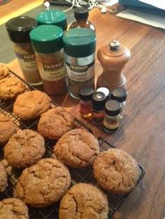 """Huge thanks Becky Saletan for this rock'em-sock'em power baking tip for the Chef's Essences! """"Amp up the intensity of flavors with Aftelier Perfumes Chef's Essences, even when using conventional spices and extracts--These tried and true Molasses Spice Cookies from Cook's Illustrated Magazine's The New Best Recipe cookbook. I """"echoed"""" the cinnamon, ginger, clove, vanilla, black pepper, and allspice called for in the recipe with essential oils. Pow!"""""""