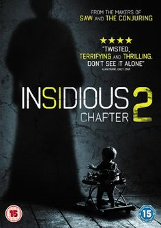 Insidious 2 [DVD]: Amazon.co.uk: Patrick Wilson, Rose Byrne, Barbara Hershey, James Wan: Film & TV