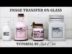 Weekend Project: Easy Vintage Style Glass Bottles and Jars - Knick of Time