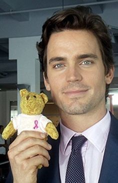 Matt Bomer.... I wish I was that bear.