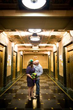 Mollie & Nate @ Buffalo City Hall – Wedding Photography