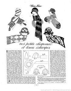 Les Modes de la femme de France | 1924-01-27 | Gallica