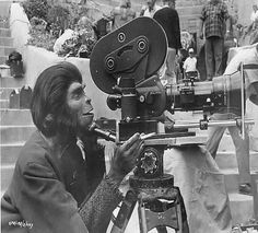 """Are the apes really taking over? On the set of """"The Planet of the Apes"""" (1968)"""