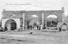 Old Lusignan Palace Famagusta Post Card Photo by J. Foscolo Limassol Courtesy of Cultural Centre of Popular Bank Vintage Pictures, Old Pictures, Greece Pictures, World Library, Old Greek, Limassol, Photographs Of People, Rare Photos
