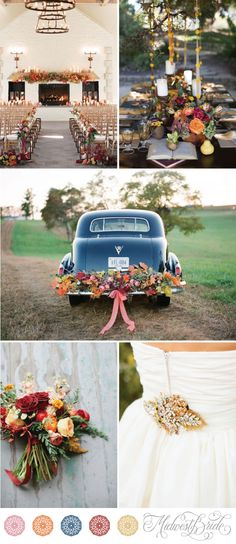fall wedding inspiration see more at http://www.midwestbride.com/2014/09/23/fall-wedding-inspiration-board/