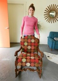 How to Upholster in Your Jammies! Chair Up! Online Upholstery Class ModHomeEc/UpholsteryKnockouts