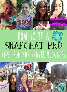 How To Be A Snapchat Pro www.taylorstracks.com