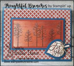 Thoughtful Branches - Bundle, Stampin' Up! Image C, Branches, Stampin Up, Thoughts, Frame, Home Decor, Picture Frame, Decoration Home, Room Decor