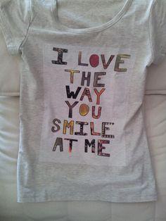 #Women #Tshirt printed SIZE L 95% cotton Fitted via #Etsy www.etsy.com/uk/shop/handmade4everyone