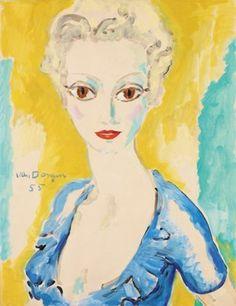 Kees Van Dongen – peintre français (1877-1968) – Eléments biographiques et quelques oeuvres