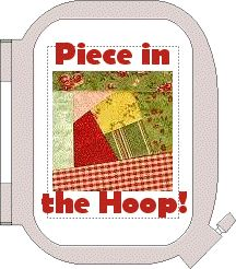 Learn to Piece in the Hoop -  If you have never made a quilt block or have never learned the quilting technique called paper piecing, then begin here. This is a wonderful tutorial!  $20  I include a 10 page, very thorough pictorial PDF instruction manual and a Crazy Patch sample block for 4x4 hoops so that you can sew along with me.. machine embroidery idea