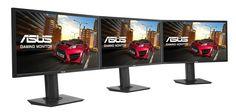 Novos monitores de gaming da série MG da ASUS chegam ao mercado