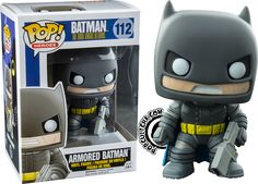 Heroes : Batman: The Dark Knight Returns - Armored Batman Funko Pop Marvel, Funko Pop Batman, Funko Pop Dolls, Funko Pop Figures, Pop Vinyl Figures, Batman Pop Vinyl, Figurine Dragon, Pop Figurine, Univers Dc