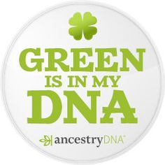 Green is in my DNA