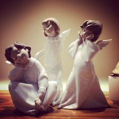 Lladro Angels  Handmade Spanish Porcelain Available at Little Europe Jewellers Email lej@littleeurope.com