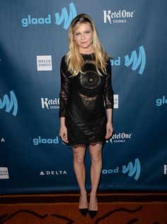 Kirsten Dunst at the 24th Annual GLAAD Media Award