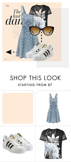 """""""THE LAST DANCE"""" by yuliyusanti on Polyvore featuring Anja, adidas Originals, adidas and Versace"""