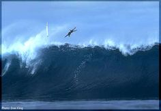 Jay Moriarity wipeout, very scary. So sad that he died so young (not surfing, but diving)