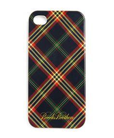 Tartan iPhone Case | Brooks Brothers.