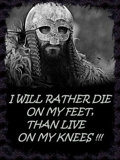 BETTER TO BE A WOLF OF ODIN THAN A LAMB OF GOD (4