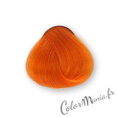 coloration cheveux mandarine stargazer color mania httpwww - Coloration Semi Permanente Roux