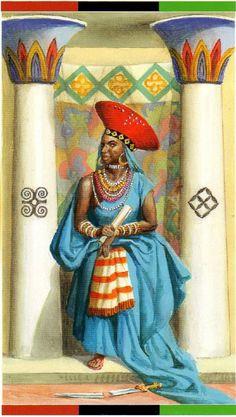 The High Priestess - African American Tarot by Jamal R. Wiccan Witch, Magick, Tarot Card Decks, Tarot Cards, Online Tarot, Tarot Major Arcana, Free Tarot, African Culture, Oracle Cards