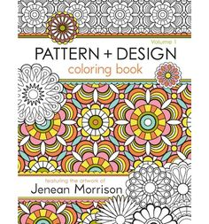 Enjoy a creative collaboration with one of today's top surface and textile designers. Jenean Morrison brings her fresh, modern, intricate designs-- you bring the color! 50 original patterns and designs for coloring! Repeat patterns, florals, geometric and abstract prints. Artwork is on the front of the pages only