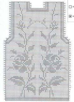 Crochet Skirt Pattern, Crochet Coat, Crochet Jacket, Crochet Blouse, Crochet Clothes, Filet Crochet Charts, Crochet Diagram, Crochet Shell Stitch, Crochet Stitches