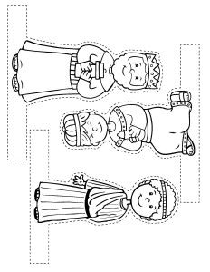 Free Christmas craft from my Easy-to-Make Bible Crafts book - Kim Mitzo Thompson Preschool Christmas, Christmas Nativity, Christmas Activities, Christmas Crafts For Kids, Xmas Crafts, Christmas Colors, Christmas Projects, Kids Christmas, Christmas Printables