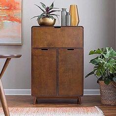 Liquor Cabinet Wine Storage Organizer Bar For Home Mid Century Modern Furniture | Home & Garden, Kitchen, Dining & Bar, Bar Tools & Accessories | eBay!